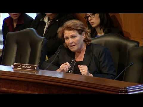 Heitkamp Questions Witnesses at Senate Indian Affairs Committee Hearing