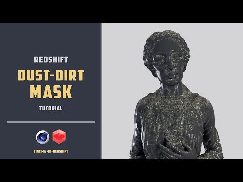 Add dust to any 3d model using Redshift [CINEMA 4D TUTORIAL]