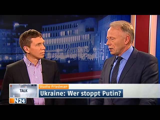 Studio Friedman: Sanktionen gegen Russland ohne Wirkung? (Ganze Sendung 27.03.2014)