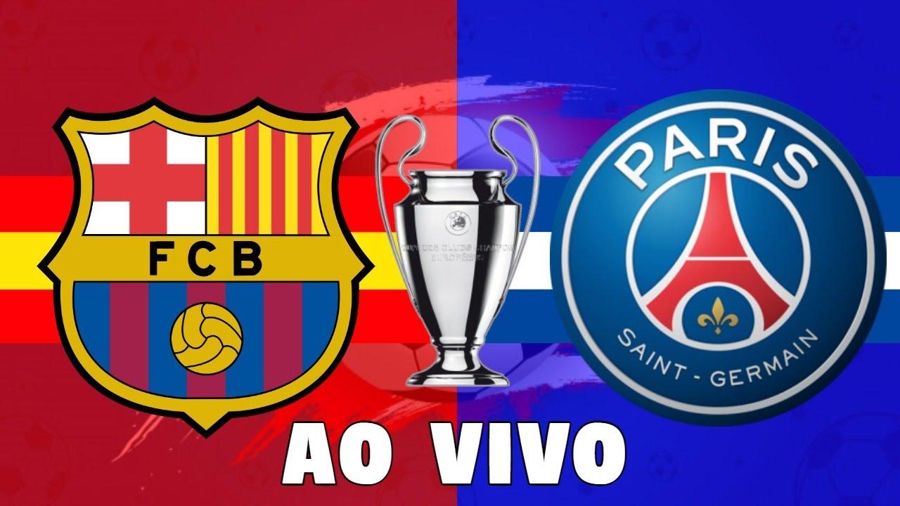 Barcelona x PSG Ao Vivo | Liga dos Campeões 2020/21