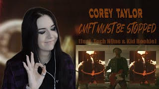 Corey Taylor - CMFT Must Be Stopped (Реакция / Reaction)