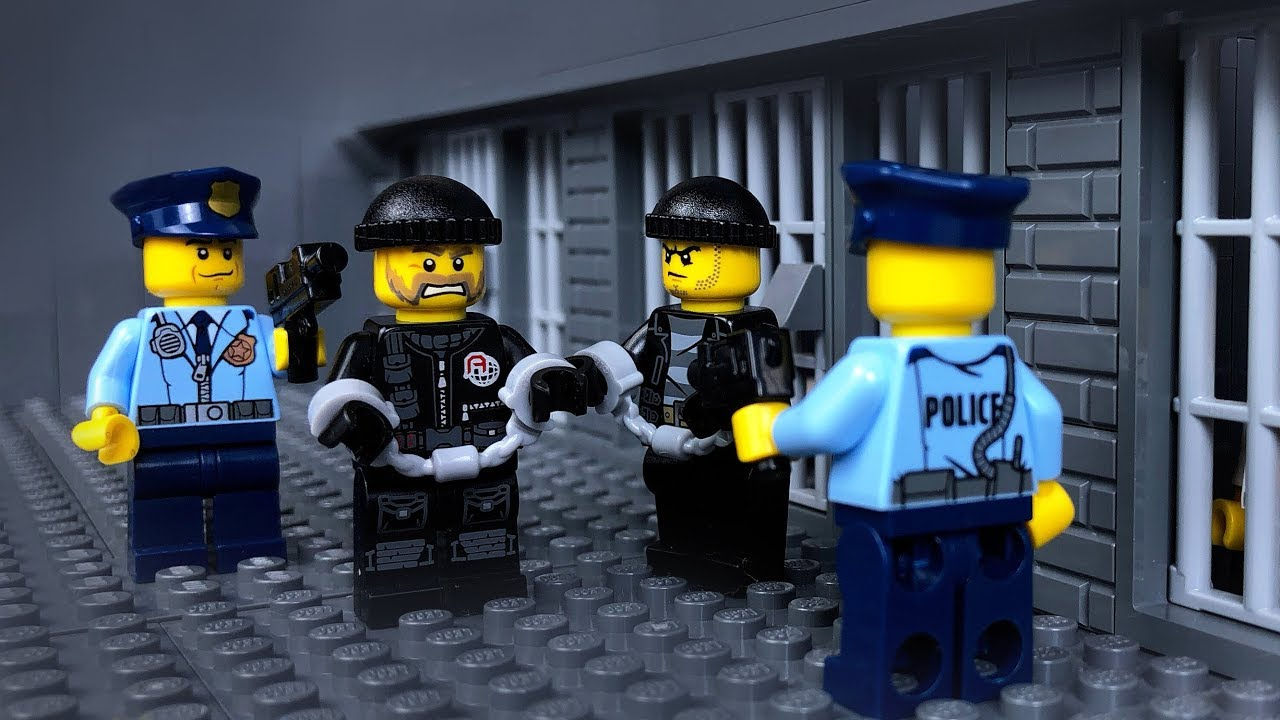 Lego Prison Break 🔴Jail Escape 🚁 Helicopter Escape