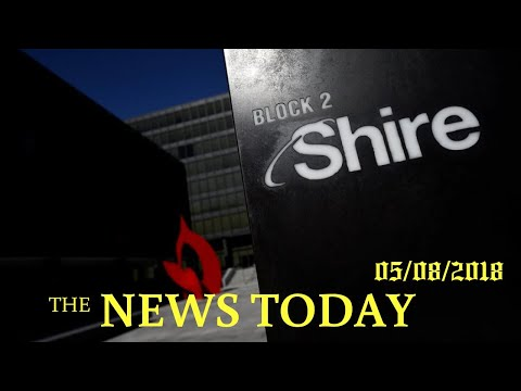Japan's Takeda Clinches $62 Billion Deal To Buy Drugmaker Shire   News Today   05/08/2018   Don...