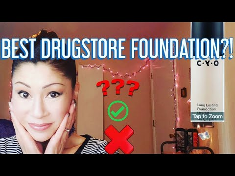 CYO LIFEPROOF FOUNDATION REVIEW 2019- (BEST DRUGSTORE FOUNDATION/?!)