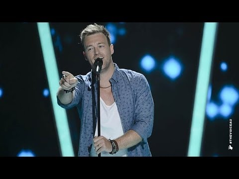 Josh McDonald Sings The Blowers Daughter | The Voice Australia 2014