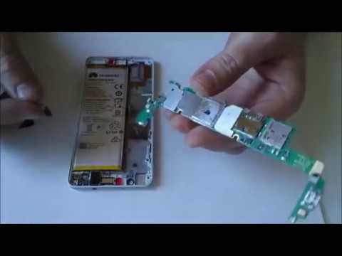 Huawei Honor 6 disassembled