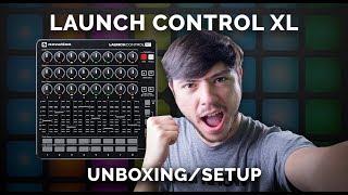 Novation Launch Control XL Review, Unboxing & Initial Setup!