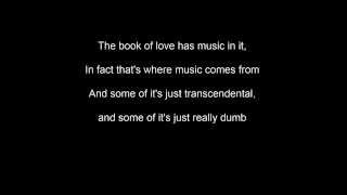 Gavin James - The Book of Love - Lyrics