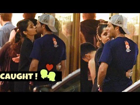 Freida Pinto CAUGHT Kissing Her Boyfriend Ronnie Bacardi Publicly