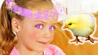 Magic Girl Has Magic Powers! | Babysitter is Confused! | Learn to Obey | FUNTASTIC Playhouse