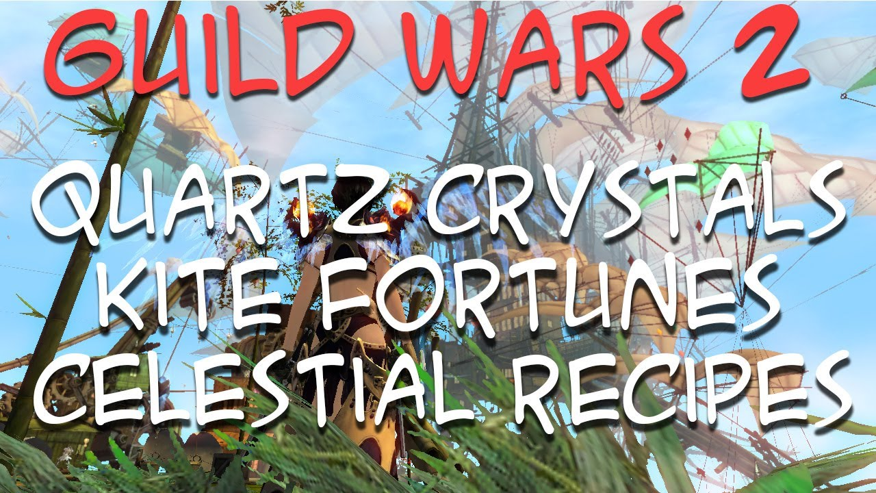 Guild Wars 2: Quartz Crystals, Kite Fortunes and Celestial ... Quartz Crystal Gw2