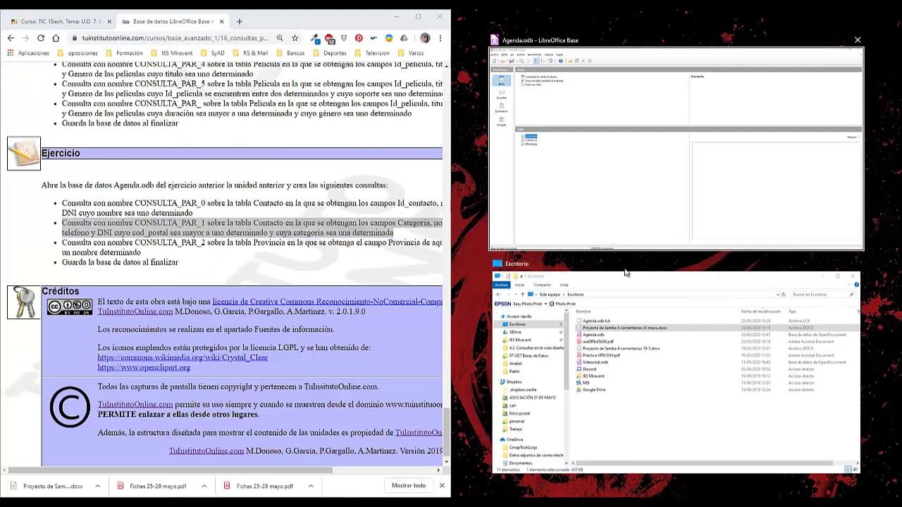 LibreOffice - Base: Consultas con parámetros - YouTube