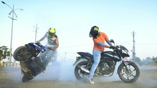 Best bike stunts | Best stunts| Moped stunts | jayesh sen | shubham vlogs