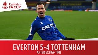 Everton vs Tottenham (5-4) | Instant classic at Goodison Park! | Emirates FA Cup Highlights