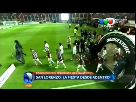 Telefe Noticias. San Lorenzo Campeon de America 2014
