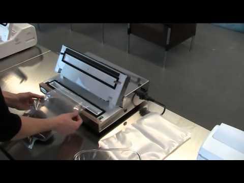 vakuumieren mit der allpax p 250 und gof rollen funnydog tv. Black Bedroom Furniture Sets. Home Design Ideas