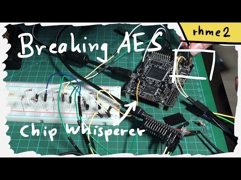 Breaking AES With ChipWhisperer - Piece Of Scake (Side Channel Analysis 100)