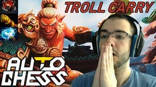 Troll Warlord CARRY ME PLEASE! | Dota Auto Chess Gameplay 91