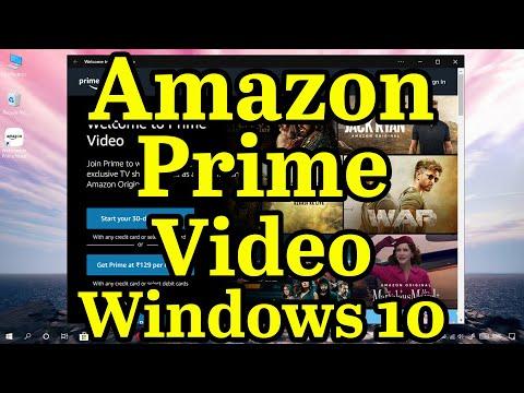🎞How To Install Amazon Prime Video App On Windows 10 || Progressive Web App || CoolTechtics