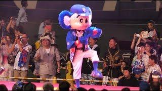 20170729 #プロ野球のマスコットが面白い #ちびっ子あつまれ kawaii #ma...
