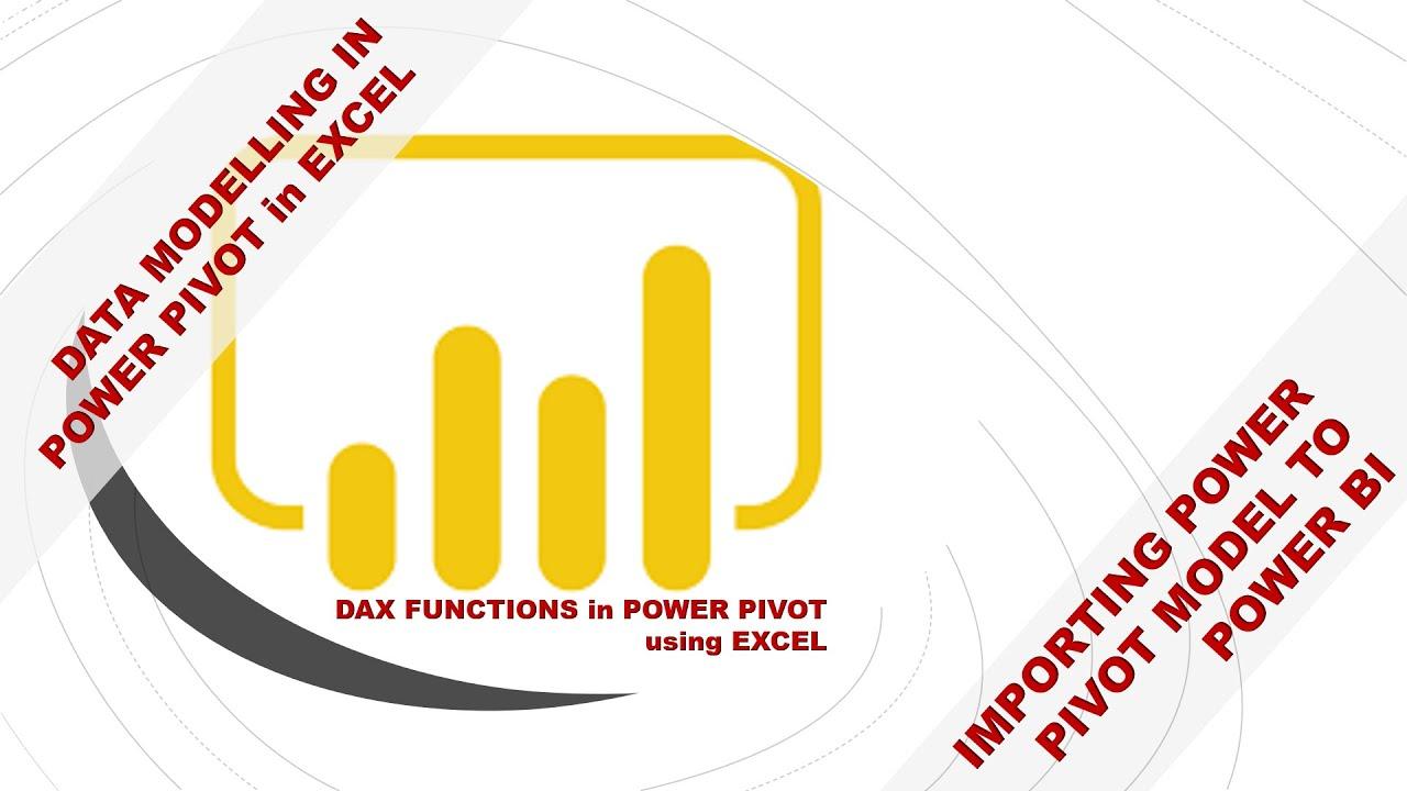 Import Power Pivot model to Power BI