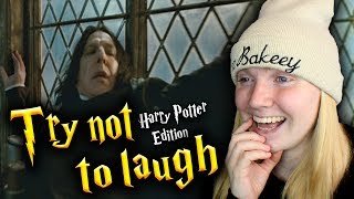 One of TheBakeey's most viewed videos: Try Not To Laugh - Harry Potter Edition