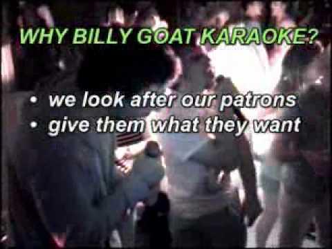 Billy Goat Karaoke Promo 1