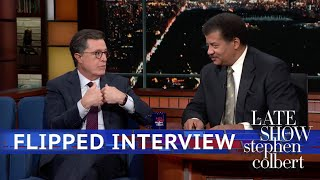 Download Neil DeGrasse Tyson Interviews Stephen Colbert Mp3 and Videos