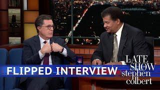 Neil Degrasse Tyson Interviews Stephen Colbert