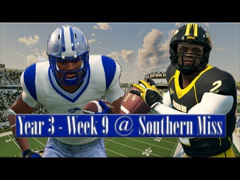 TWO MAJOR INJURIES! Baltimore State Dynasty Year 3 W9 @ Southern Miss