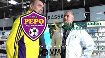 Sammonlahden Apteekin haastattelussa Mika Heino - PEPO x Sammonlahden Apteekki 2019