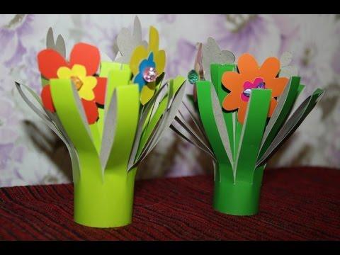 Букет цветов в подарок маме на 8 Марта!