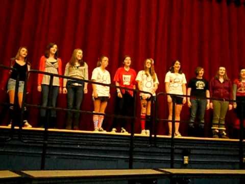 """""""Hey Soul Sister"""" Performed by Chatham Middle School Glee Club"""