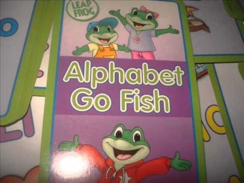ALPHABET GO FISH DEMO OF A CARD GAME FOR CHILDREN LEARNING TO READ AND WHAT IT IS WORTH