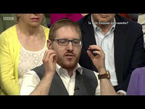 BBC The Big Question Is anti-Zionism racist? 1 May 2016