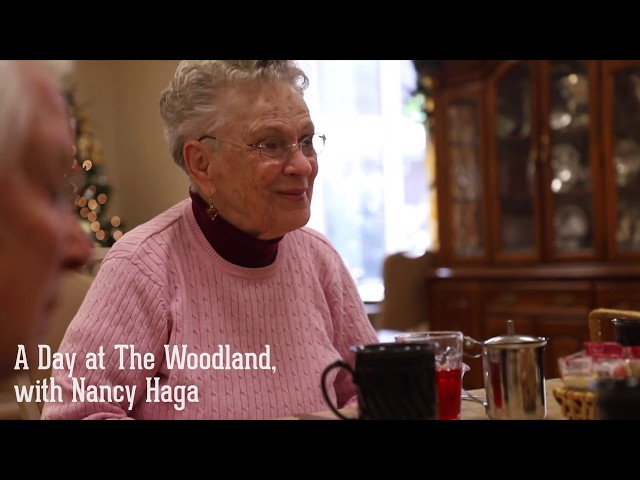 A Day at The Woodland with Nancy Haga