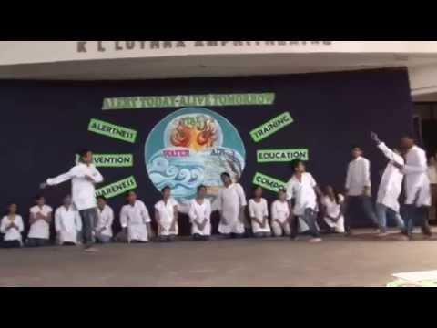 Disaster Management Play by children of ASN School, Mayur Vihar, New Delhi