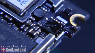 iPhone 4, reballing chip audio U62