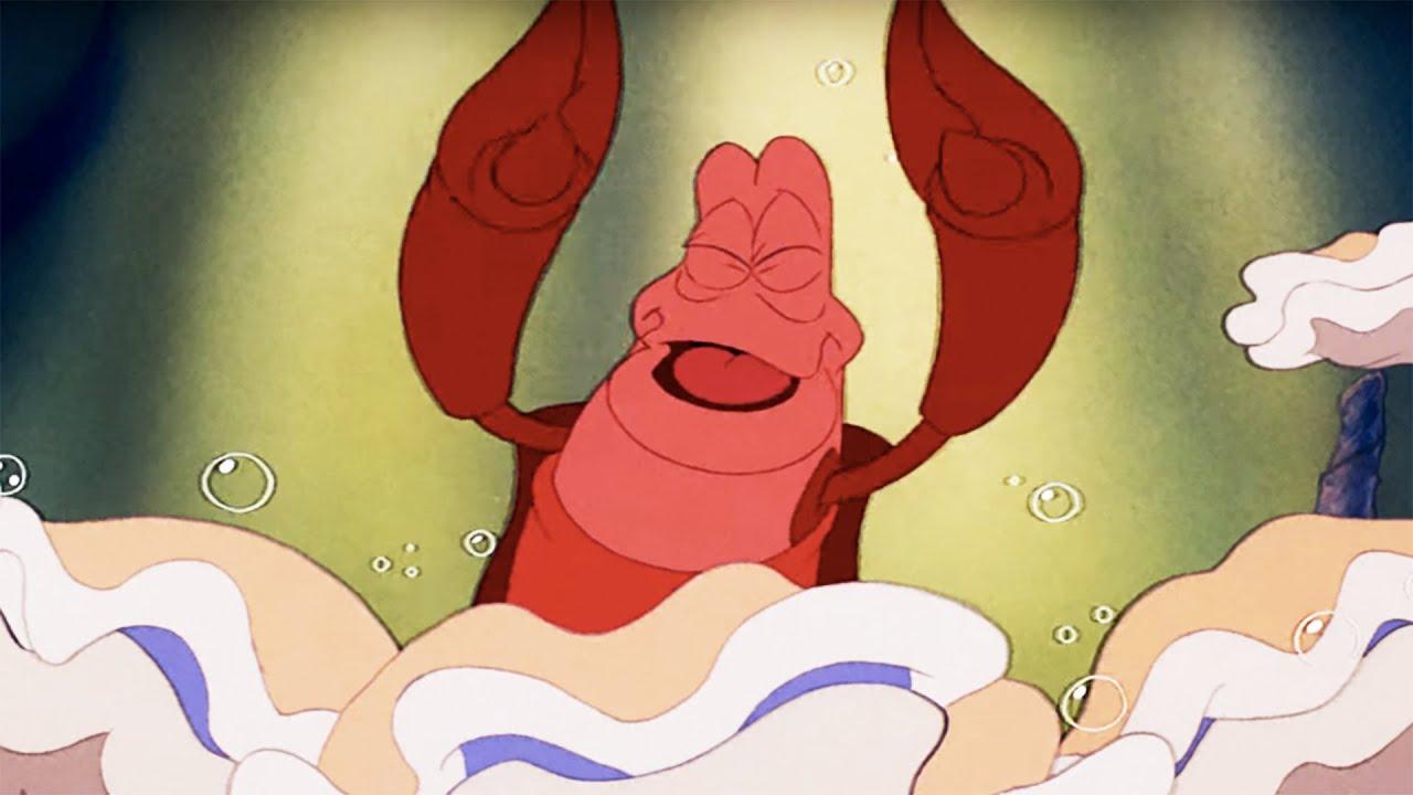 the little mermaid under the sea lyric video disney sing