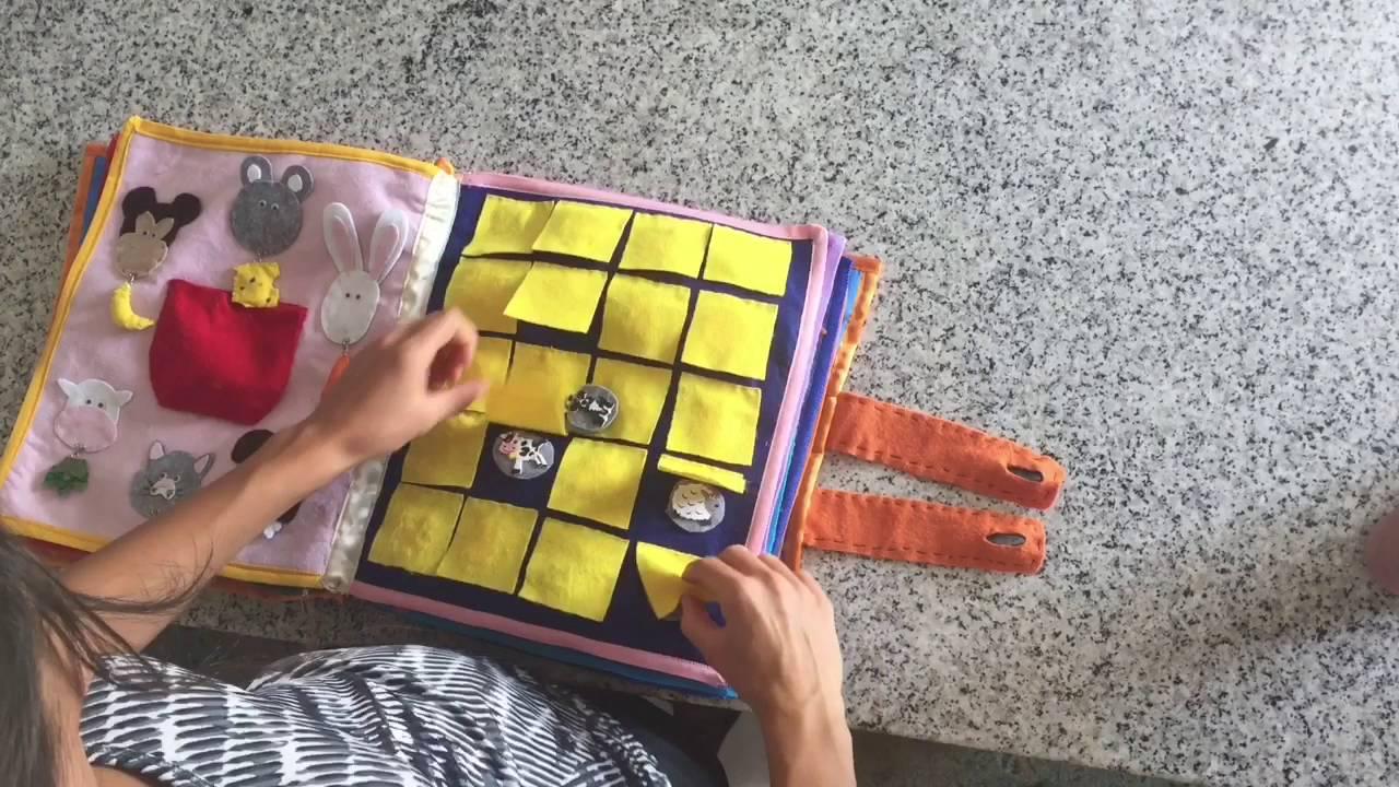 Conosciuto Libro tattile sensoriale per bambini - YouTube YC39