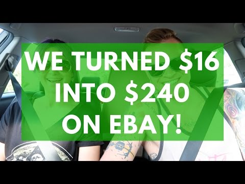 Garage Sale Haul - $16 into $240 on eBay | Bread & Butter items | RALLI ROOTS