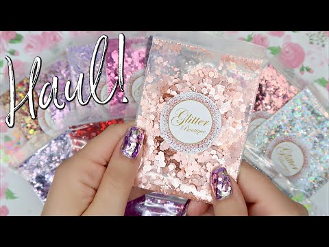 Nail Art Glitter Haul! | The Glitter Boutique Canada