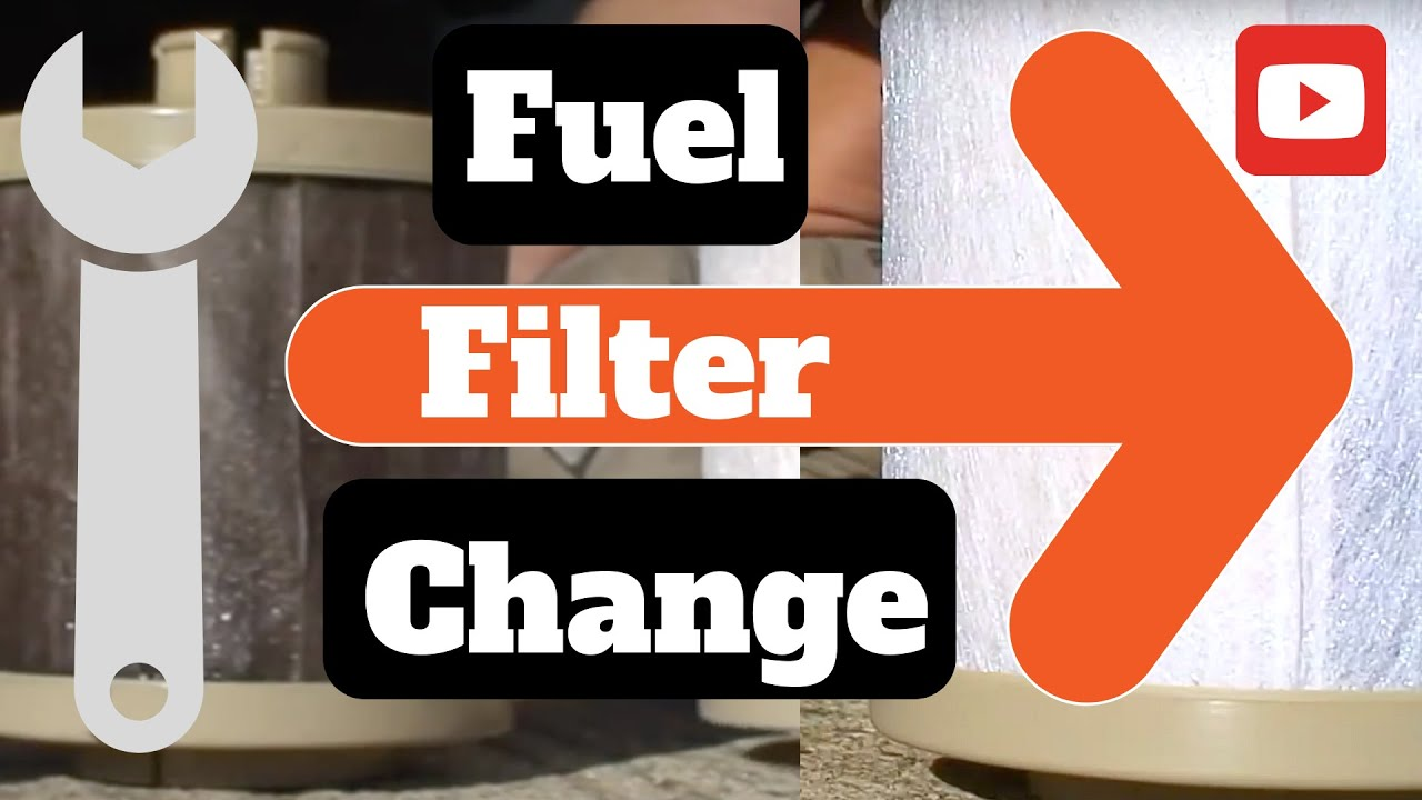how to change the fuel filter on ford diesel super duty king ranch 4x4 [ 1280 x 720 Pixel ]