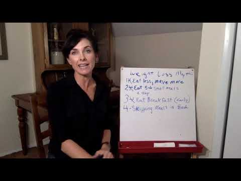 Weight Loss Myths - Cowgirl Up Diet Module 2, Lesson 1