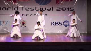 K-POP WORLD FESTIVAL 2015 | BRAZIL  - Black Pearl - EXO K 엑소케이 – Overdose