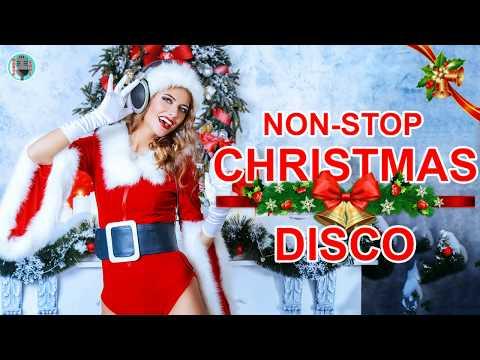 DISCO Christmas Disco Song MegaMix II Non stop Christmas Songs Medley Disco Remix