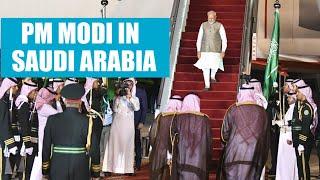 PM Modi reaches Saudi Arabia, strategic & trade talks top agenda