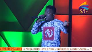 Gambar cover Ghana Meets Naija: Bless Thrill Fans With Chocho Mucho Freestyle