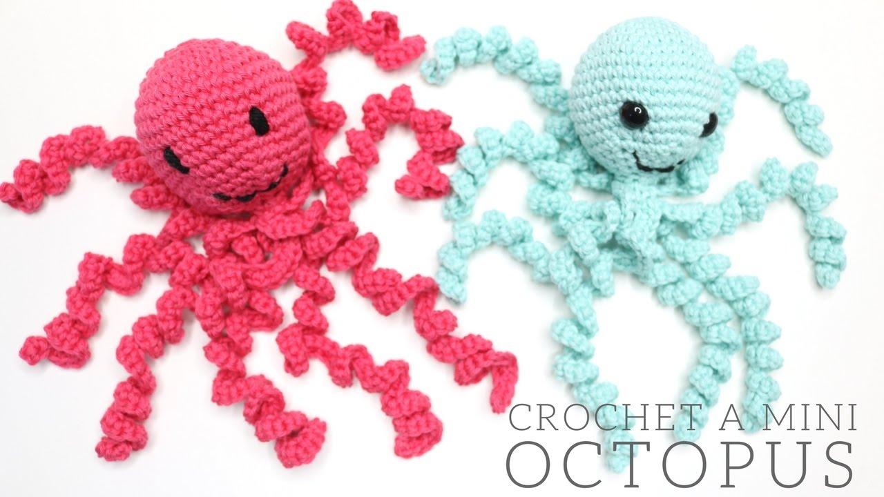 CROCHET: Mini Octopus Tutorial PART ONE | Bella Coco