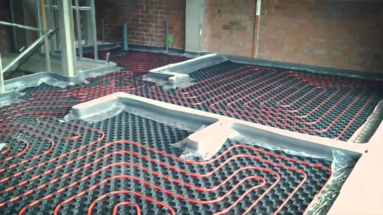 C mo realizar la instalaci n de un suelo radiante youtube - Colocacion suelo radiante ...